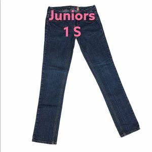 American Rag 1 S Jeans Navy Denim Curvy Skinny